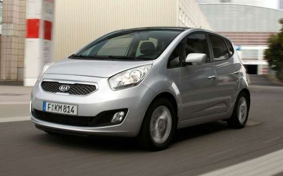 Kia Venga 2010 she won the iF Product Design Award ' picture #3
