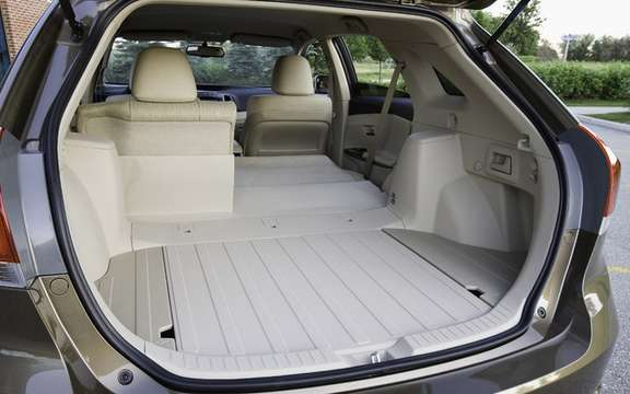 New standard features for the 2010 Toyota Venza picture #3