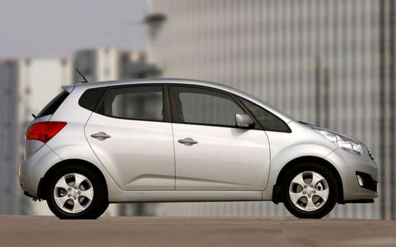 Kia Venga 2010 she won the iF Product Design Award ' picture #5