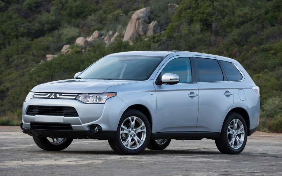 Mitsubishi establishes a sales record of all time in 2013 picture #1