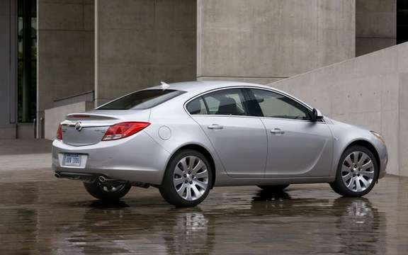 The 2011 Buick Regal will be manufactured Canadian Oshawa plant picture #3