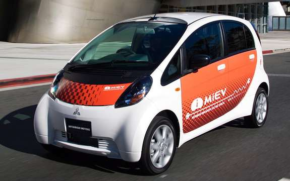 Donation of three i-MiEV models of Mitsubushi British Columbia