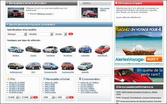 The Car Guide Launches section