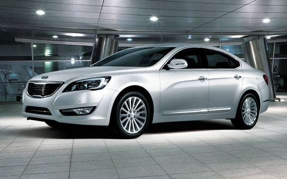 Kia Cadenza: more in the high end