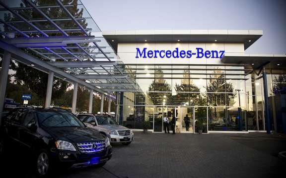 Mercedes-Benz opens establishment cry North Vancouver