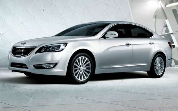 Kia Cadenza: more in the high end picture #2