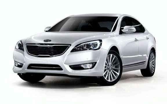 Kia Cadenza: more in the high end picture #3
