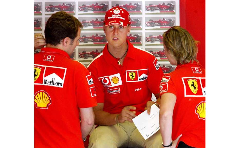 Michael Schumacher: silent tribute to 45 years