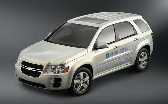 Chevrolet Equinox fuel cell for Vancouver Olympics