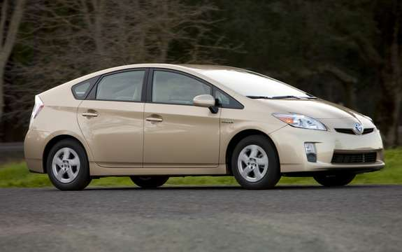 Toyota Prius car of the year in Japan