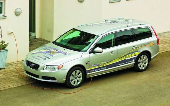Volvo wants to launch its first plug-in hybrid models for 2012