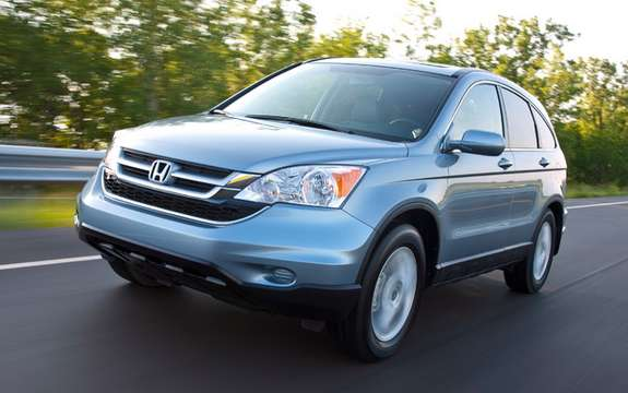 Honda CR-V 2010: more powerful and thrifty
