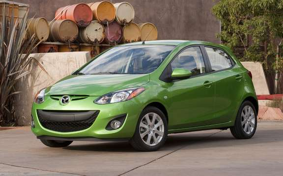 Mazda confirms that his model Mazda2 will be sold in America