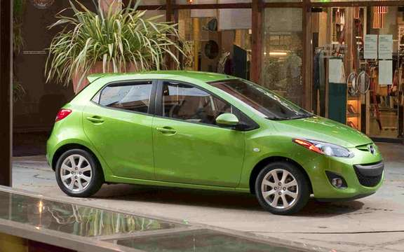 Mazda confirms that his model Mazda2 will be sold in America picture #2