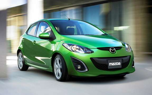 Mazda confirms that his model Mazda2 will be sold in America picture #3
