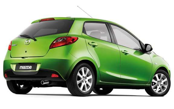Mazda confirms that his model Mazda2 will be sold in America picture #5