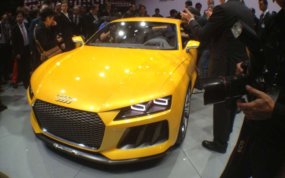 Audi Sport Quattro Concept Laserlight: visiting at CES in Las Vegas
