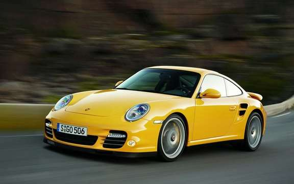 Porsche 911 Turbo, 2010: constantly changing