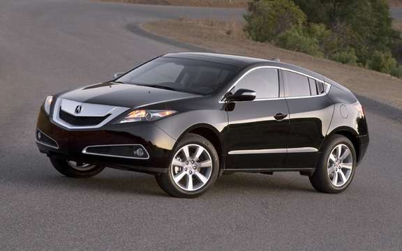 The new Acura ZDX with panoramic views