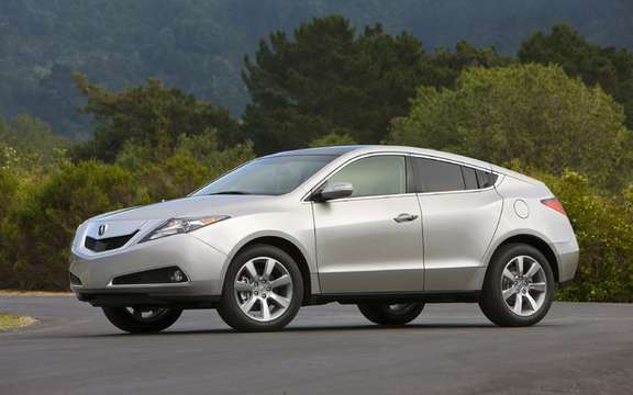 The new Acura ZDX with panoramic views picture #2
