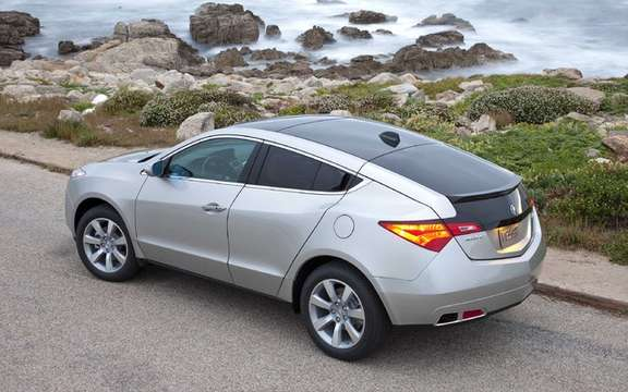 The new Acura ZDX with panoramic views picture #3