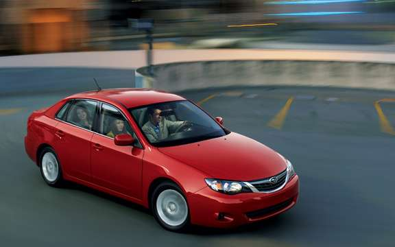Subaru Canada announces pricing for 2010 Impreza models