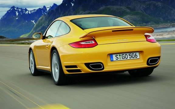 Porsche 911 Turbo, 2010: constantly changing picture #2