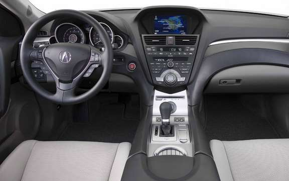 The new Acura ZDX with panoramic views picture #4