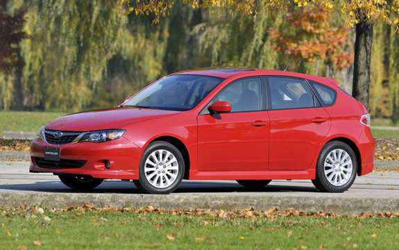 Subaru Canada announces pricing for 2010 Impreza models picture #2