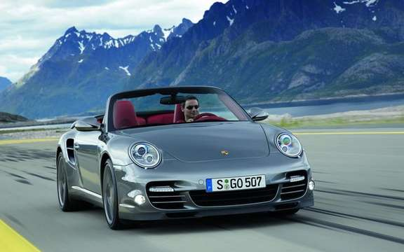 Porsche 911 Turbo, 2010: constantly changing picture #3