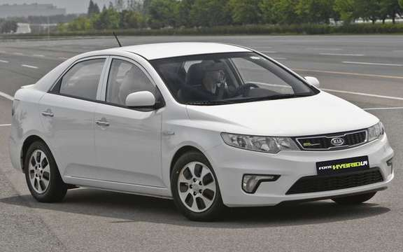 The Kia Forte Hybrid finally available in South Korea