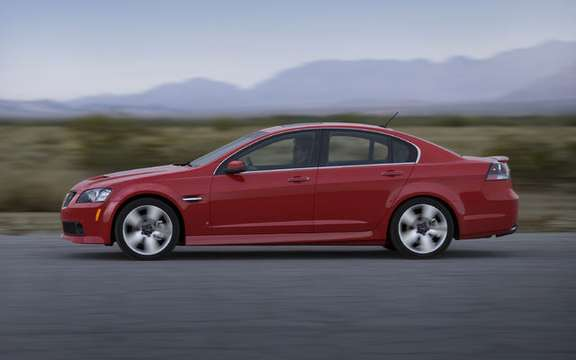 Pontiac G8 will become the future Chevrolet Caprice