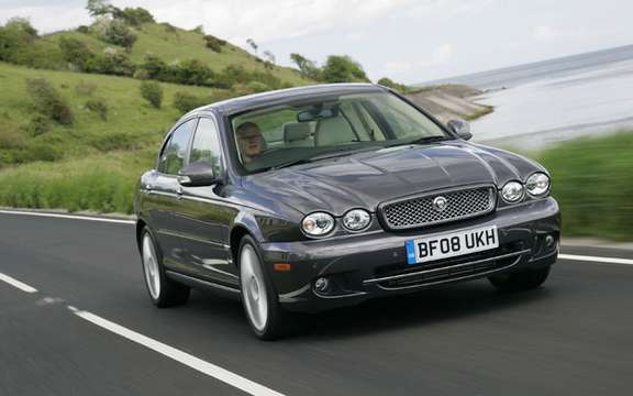 Jaguar X-Type, end of announced production picture #1