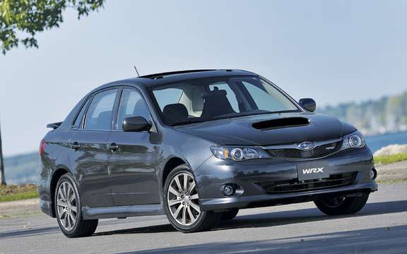 Subaru Canada announces pricing for 2010 Impreza models picture #3