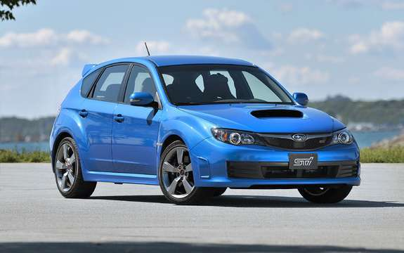 Subaru Canada announces pricing for 2010 Impreza models picture #4