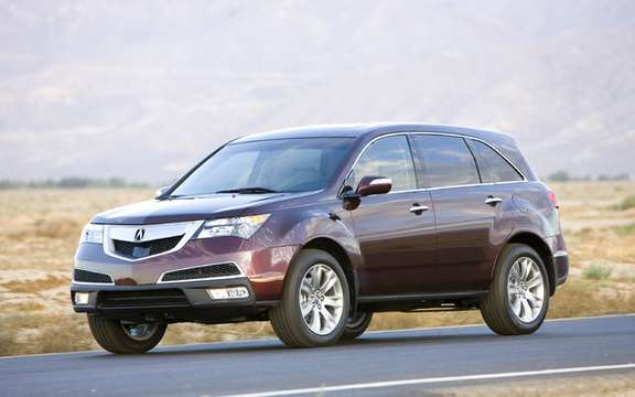 The new 2010 Acura MDX, the wife nouvlle grille house