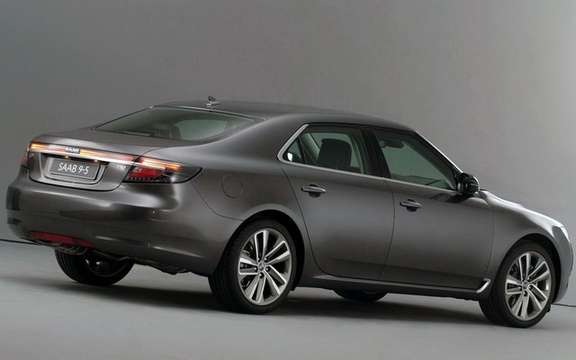 Saab 9-5 2010, life goes on picture #2