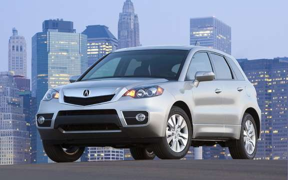 The new 2010 Acura RDX, in turn inherited the distinctive new grille to the mark