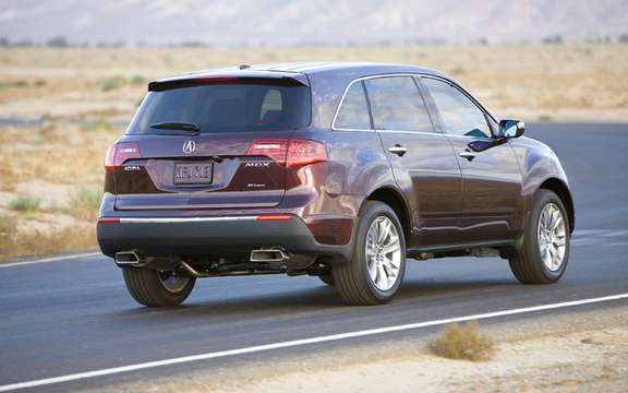 The new 2010 Acura MDX, the wife nouvlle grille house picture #2