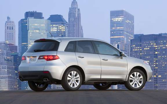 The new 2010 Acura RDX, in turn inherited the distinctive new grille to the mark picture #2