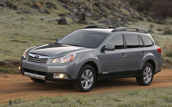 Subaru unveils prices for 2010 Outback