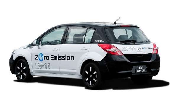 Nissan presents its new electric platform picture #4