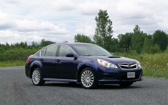 Subaru unveils pricing for all-new 2010 Legacy