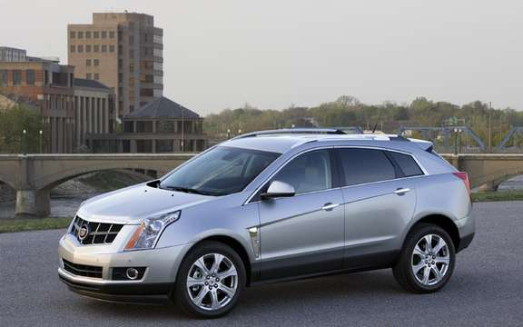Cadillac SRX 2010, offered a starting price of $ 41,575
