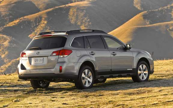 Subaru unveils prices for 2010 Outback picture #2