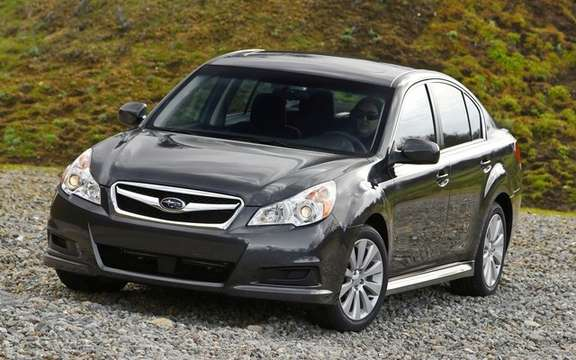 Subaru unveils pricing for all-new 2010 Legacy picture #2