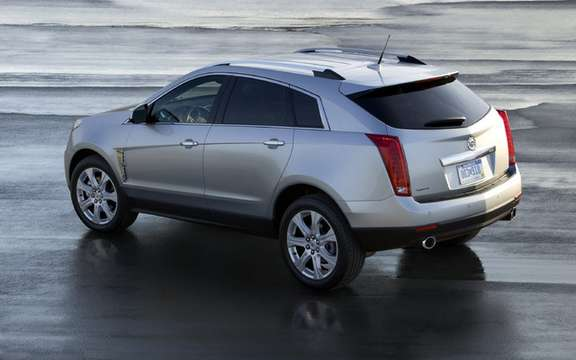Cadillac SRX 2010, offered a starting price of $ 41,575 picture #2