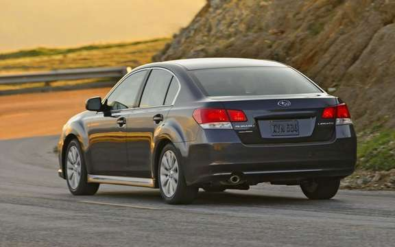 Subaru unveils pricing for all-new 2010 Legacy picture #3