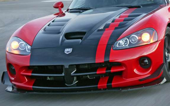 Dodge Viper could receive a heart claw Ferrari ...