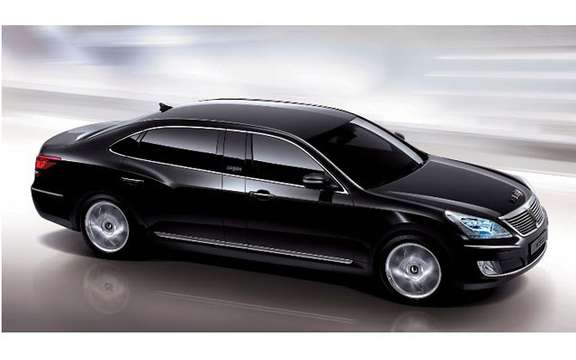 Hyundai Equus Limousine: in regular and armored versions